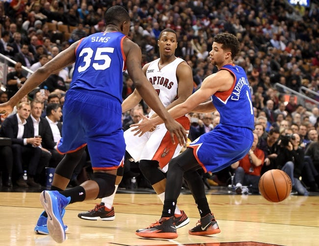 76ers vs. Raptors - 1/23/15 NBA Pick, Odds, and Prediction