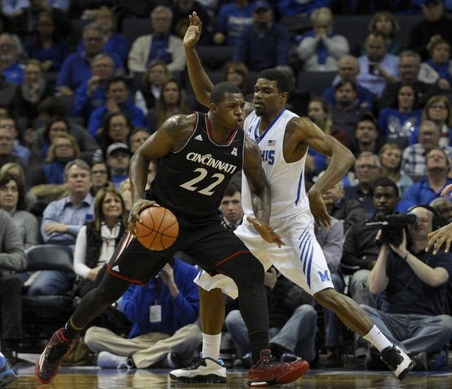 Cincinnati Bearcats vs. Memphis Tigers - 3/8/15 College Basketball Pick, Odds, and Prediction