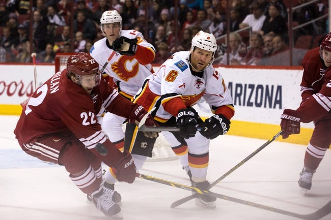 Flames vs. Coyotes - 4/7/15 NHL Pick, Odds, and Prediction