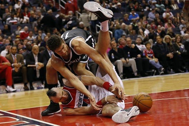Brooklyn Nets vs. Washington Wizards - 1/17/15 NBA Pick, Odds, and Prediction