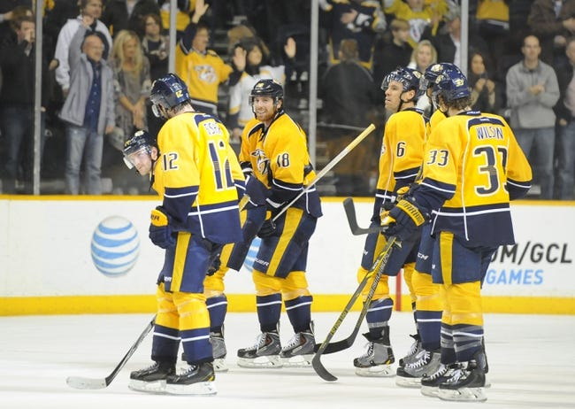 Nashville Predators vs. Washington Capitals - 2/9/16 NHL Pick, Odds, and Prediction