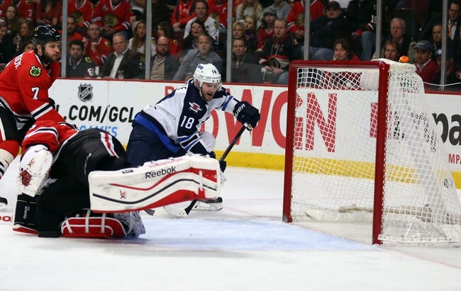 Winnipeg Jets vs. Chicago Blackhawks - 2/6/15 NHL Pick, Odds, and Prediction