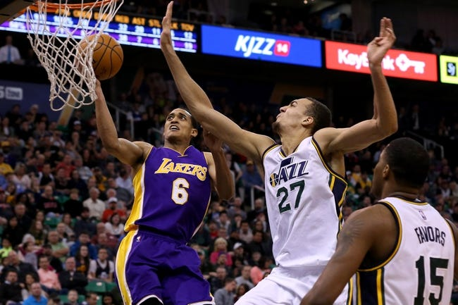 Jazz vs. Lakers - 2/25/15 NBA Pick, Odds, and Prediction