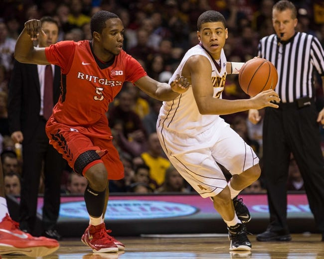 Minnesota vs. Rutgers - 3/11/15 Big Ten Tournament Pick, Odds, and Prediction