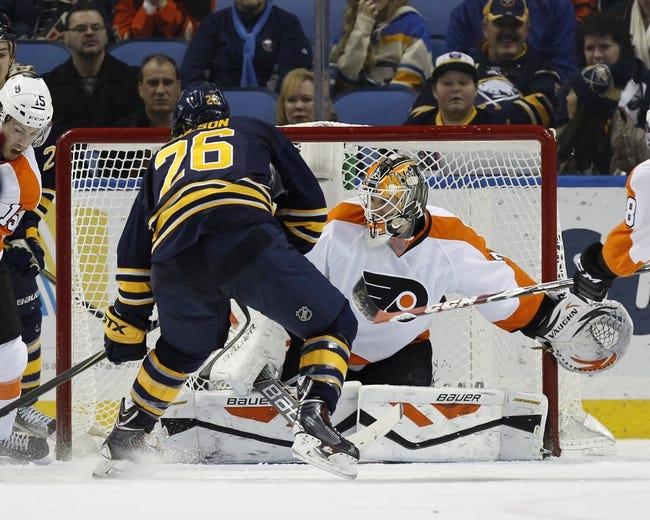 Buffalo Sabres vs. Philadelphia Flyers - 2/15/15 NHL Pick, Odds, and Prediction