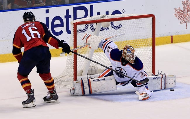 Oilers vs. Panthers - 1/10/16 NHL Pick, Odds, and Prediction