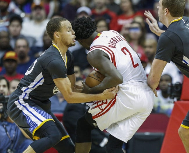 Golden State Warriors vs. Houston Rockets - 1/21/15 NBA Pick, Odds, and Prediction