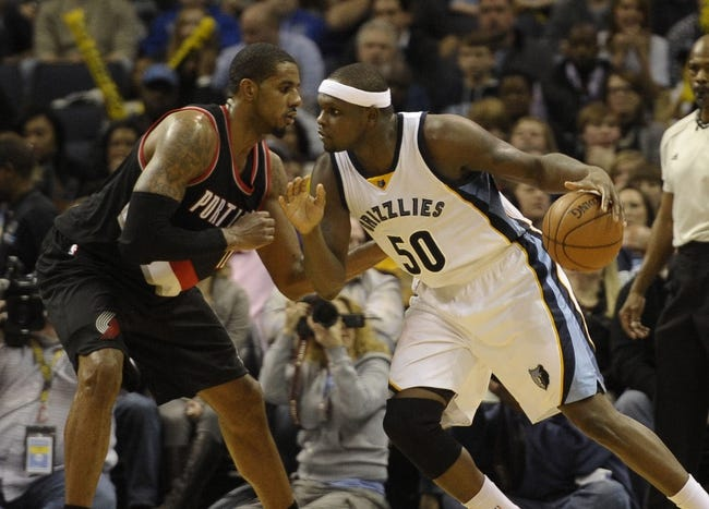 Trail Blazers vs. Grizzlies - 2/22/15 NBA Pick, Odds, and Prediction