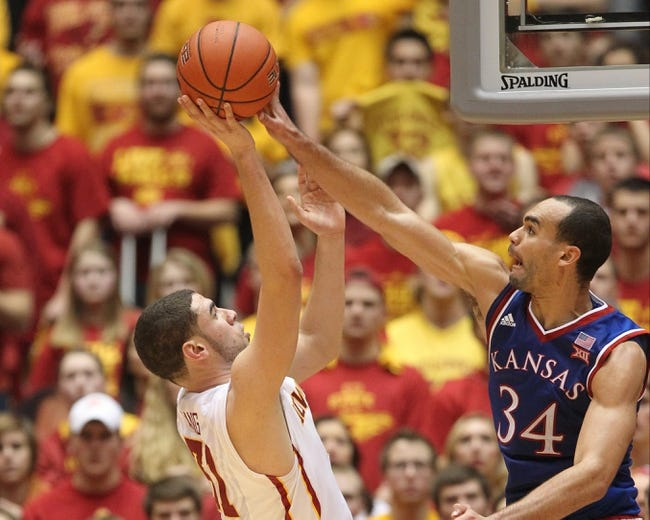 Kansas vs. Iowa State - 2/2/15 College Basketball Pick, Odds, and Prediction