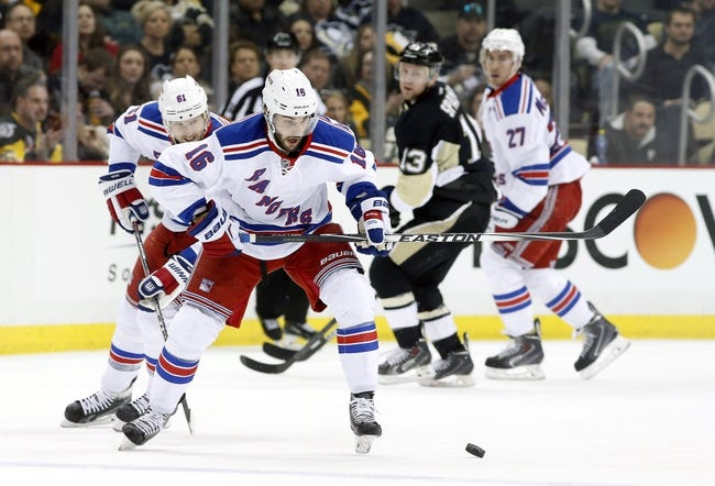 Penguins at Rangers - 4/16/15 NHL Pick, Odds, and Prediction