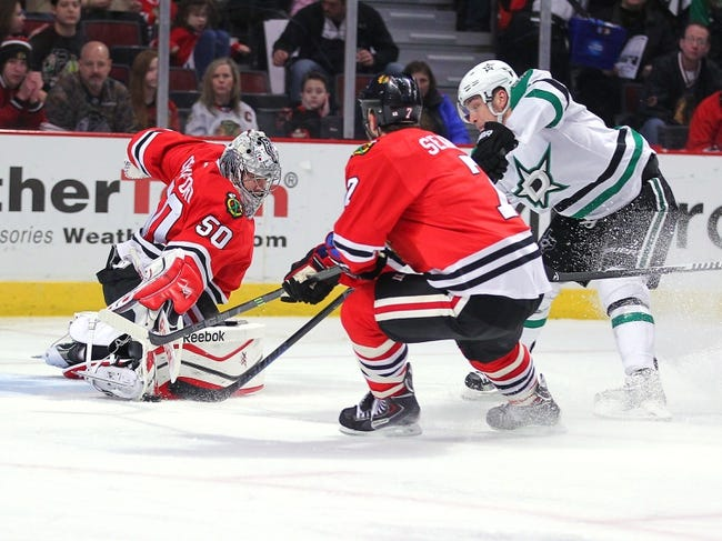 Dallas Stars vs. Chicago Blackhawks - 3/21/15 NHL Pick, Odds, and Prediction