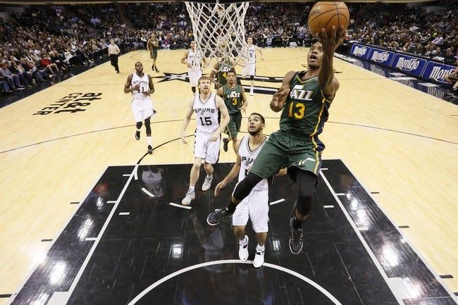 Utah Jazz vs. San Antonio Spurs - 2/23/15 NBA Pick, Odds, and Prediction
