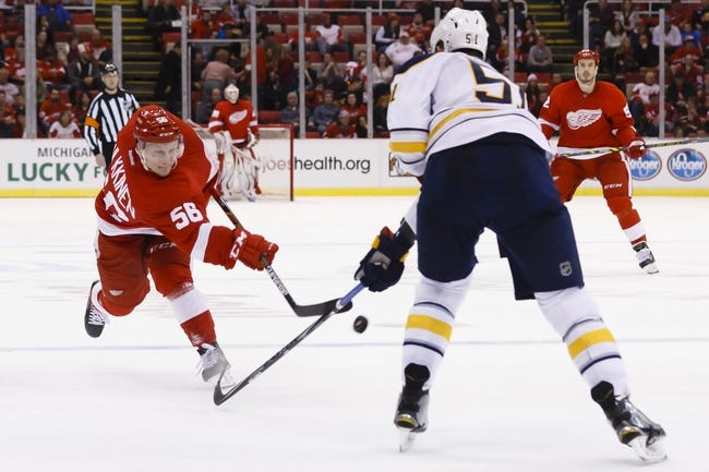 Detroit Red Wings vs. Buffalo Sabres - 12/1/15 NHL Pick, Odds, and Prediction