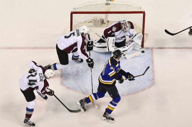 Avalanche vs. Blues - 1/6/16 NHL Pick, Odds, and Prediction