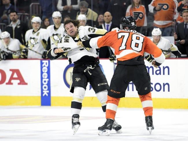 Pittsburgh Penguins vs. Philadelphia Flyers - 4/1/15 NHL Pick, Odds, and Prediction