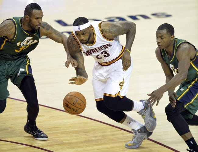 Cleveland Cavaliers vs. Utah Jazz - 11/10/15 NBA Pick, Odds, and Prediction