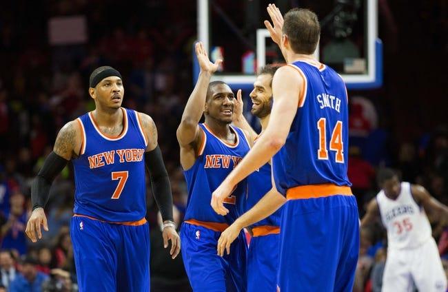 Knicks vs. Kings - 1/26/15 NBA Pick, Odds, and Prediction