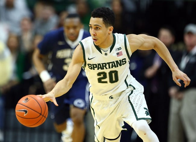 Michigan State vs. Michigan - 2/1/15 College Basketball Pick, Odds, and Prediction