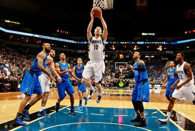 Mavericks vs. Timberwolves - 2/2/15 NBA Pick, Odds, and Prediction