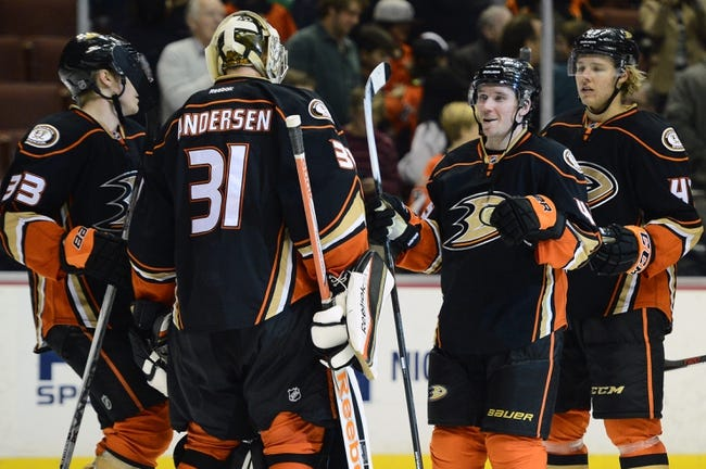Calgary Flames vs. Anaheim Ducks - 2/20/15 NHL Pick, Odds, and Prediction