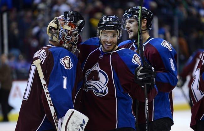 Colorado Avalanche vs. Boston Bruins - 10/14/15 NHL Pick, Odds, and Prediction