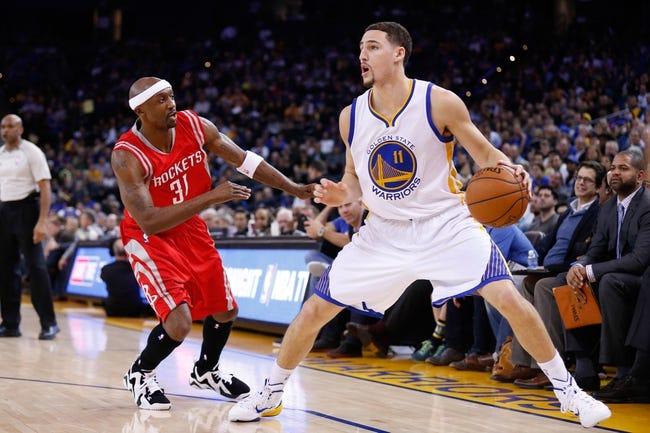 Golden State Warriors vs. Houston Rockets - 5/19/15 NBA Pick, Odds, and Prediction