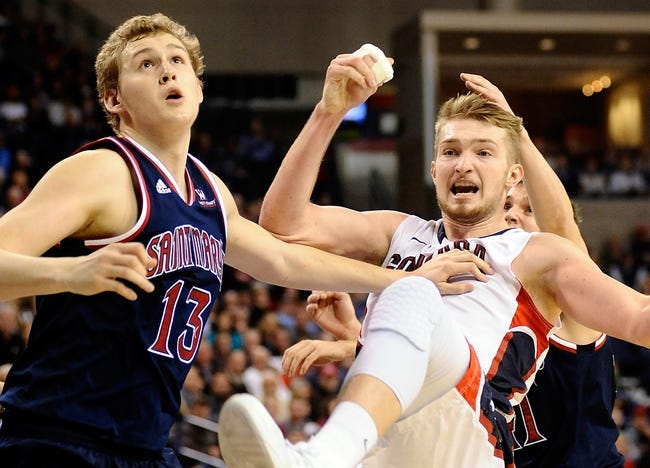 St. Mary's vs. Gonzaga - 2/21/15 College Basketball Pick, Odds, and Prediction