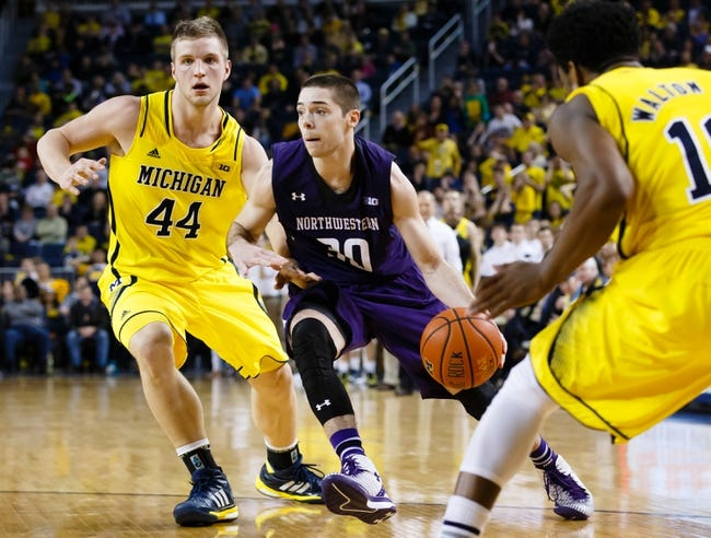 Northwestern vs. Michigan - 3/3/15 College Basketball Pick, Odds, and Prediction