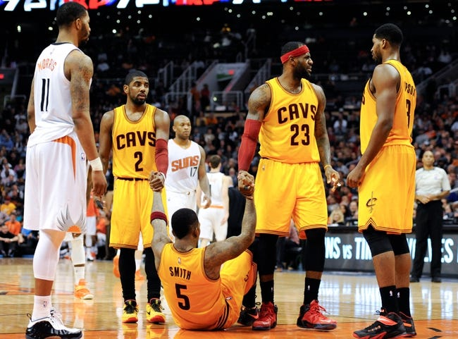 Cleveland Cavaliers vs. Phoenix Suns - 3/7/15 NBA Pick, Odds, and Prediction
