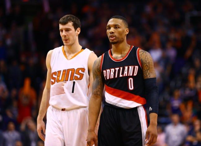 Trail Blazers vs. Suns - 2/5/15 NBA Pick, Odds, and Prediction