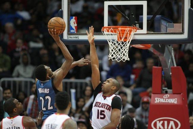 Timberwolves vs. Hawks - 2/9/15 NBA Pick, Odds, and Prediction