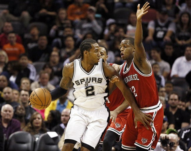 Milwaukee Bucks vs. San Antonio Spurs - 3/18/15 NBA Pick, Odds, and Prediction