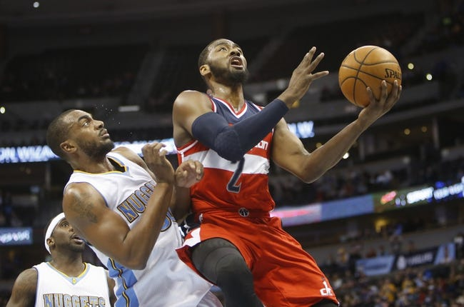 Nuggets at Wizards - 1/28/16 NBA Pick, Odds, and Prediction