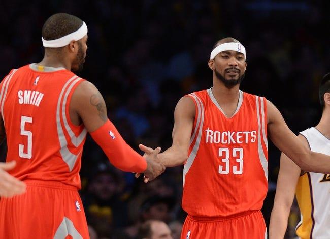 Houston Rockets vs. Los Angeles Lakers - 12/12/15 NBA Pick, Odds, and Prediction
