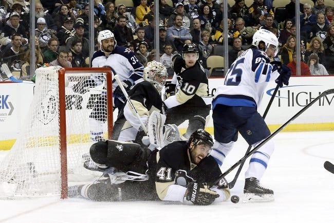 Winnipeg Jets vs. Pittsburgh Penguins - 12/27/15 NHL Pick, Odds, and Prediction