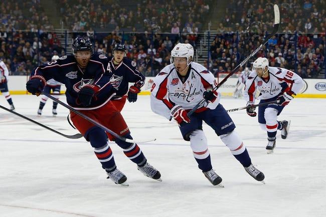 Blue Jackets vs. Capitals - 3/3/15 NHL Pick, Odds, and Prediction