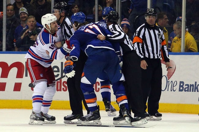 Islanders vs. Rangers - 2/16/15 NHL Pick, Odds, and Prediction