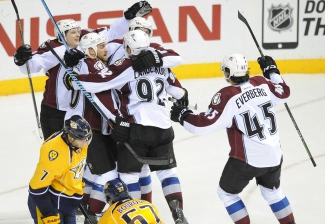 NHL | Nashville Predators (31-10-5) at Colorado Avalanche (20-18-11)