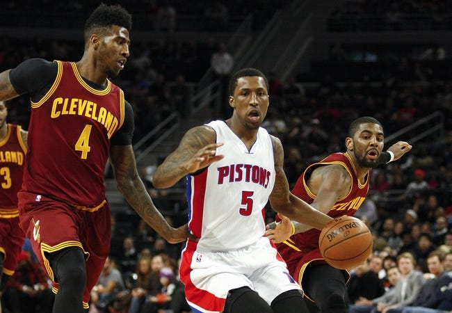 Cavaliers at Pistons - 2/24/15 NBA Pick, Odds, and Prediction