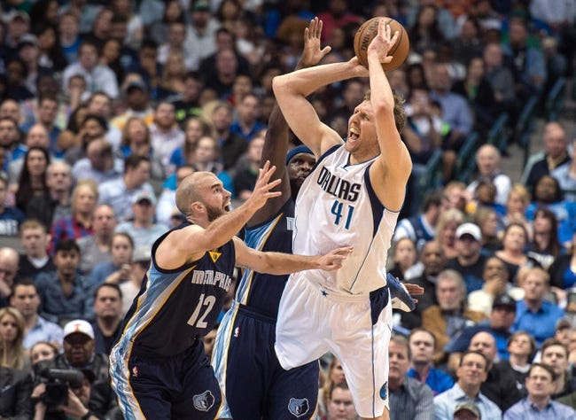 Mavericks vs. Grizzlies - 3/20/15 NBA Pick, Odds, and Prediction
