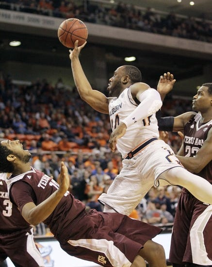 Texas A&M vs. Auburn - 2/28/15 College Basketball Pick, Odds, and Prediction