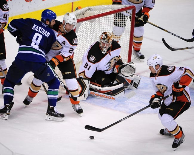 Canucks vs. Ducks - 3/9/15 NHL Pick, Odds, and Prediction