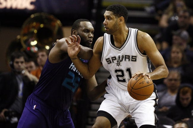 San Antonio Spurs vs. Charlotte Hornets - 11/7/15 NBA Pick, Odds, and Prediction