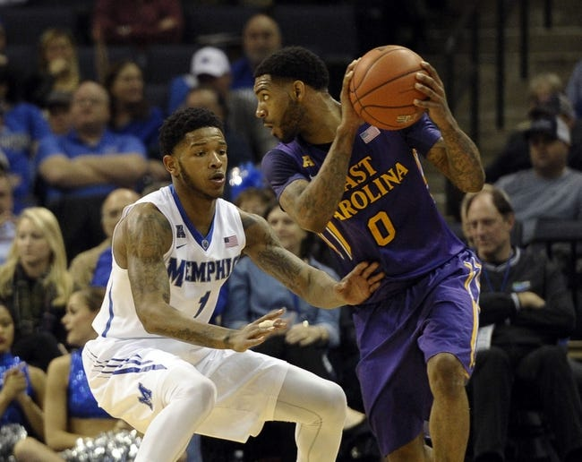 Memphis Tigers vs. East Carolina Pirates - 1/24/16 College Basketball Pick, Odds, and Prediction