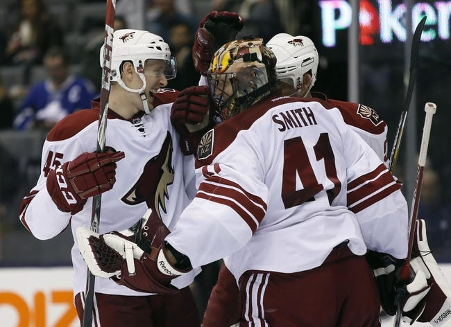 Toronto Maple Leafs vs. Arizona Coyotes - 10/26/15 NHL Pick, Odds, and Prediction