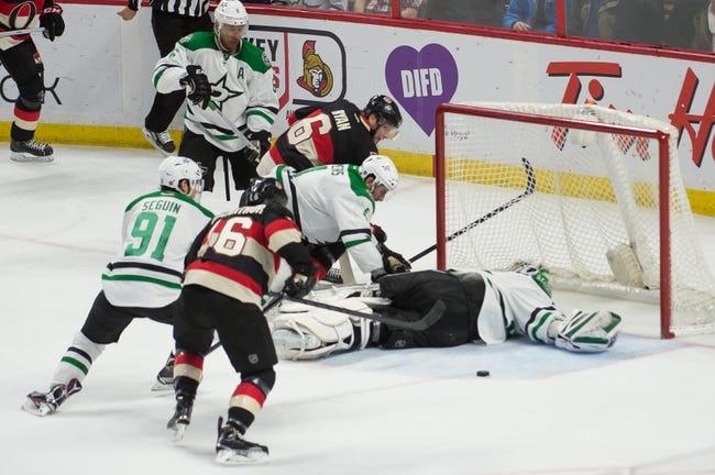 Dallas Stars vs. Ottawa Senators - 11/24/15 NHL Pick, Odds, and Prediction