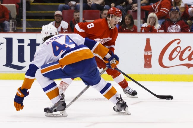 Islanders vs. Red Wings - 1/25/16 NHL Pick, Odds, and Prediction