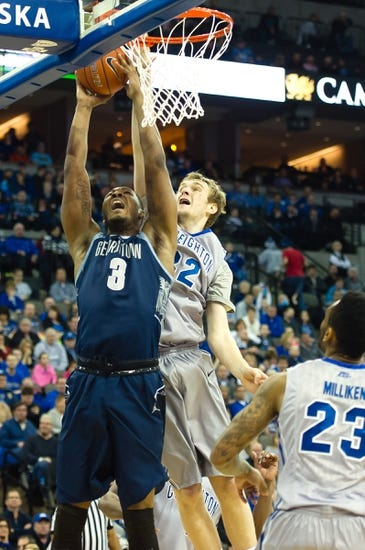 Georgetown Hoyas vs. Creighton Bluejays - 3/12/15 Pick, Odds, and Prediction