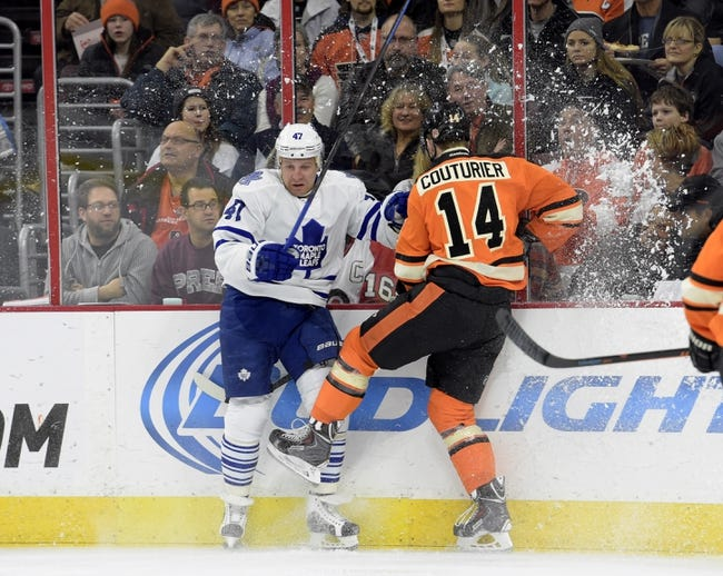 Toronto Maple Leafs vs. Philadelphia Flyers - 2/26/15 NHL Pick, Odds, and Prediction