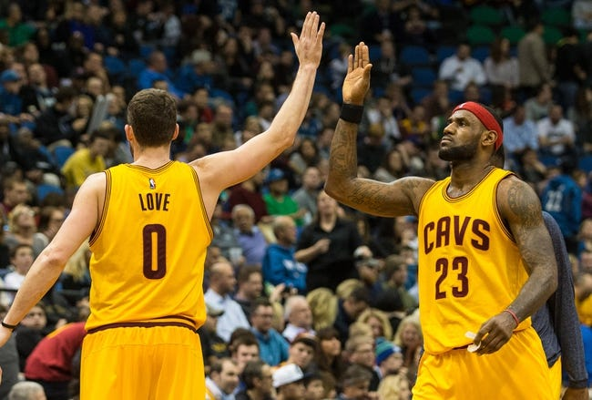 Minnesota Timberwolves vs. Cleveland Cavaliers - 1/8/16 NBA Pick, Odds, and Prediction